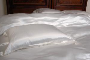 silk bed linen Ireland